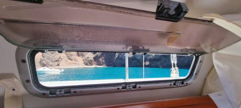 Experiencia de dormir en velero